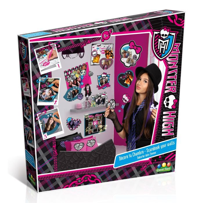 Decorao monster high sweet 1600 car interior design - Deco chambre monster high ...