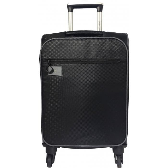 VALISE - BAGAGE Valise Cabine souple David Jones 55 cm - Noir NOIR