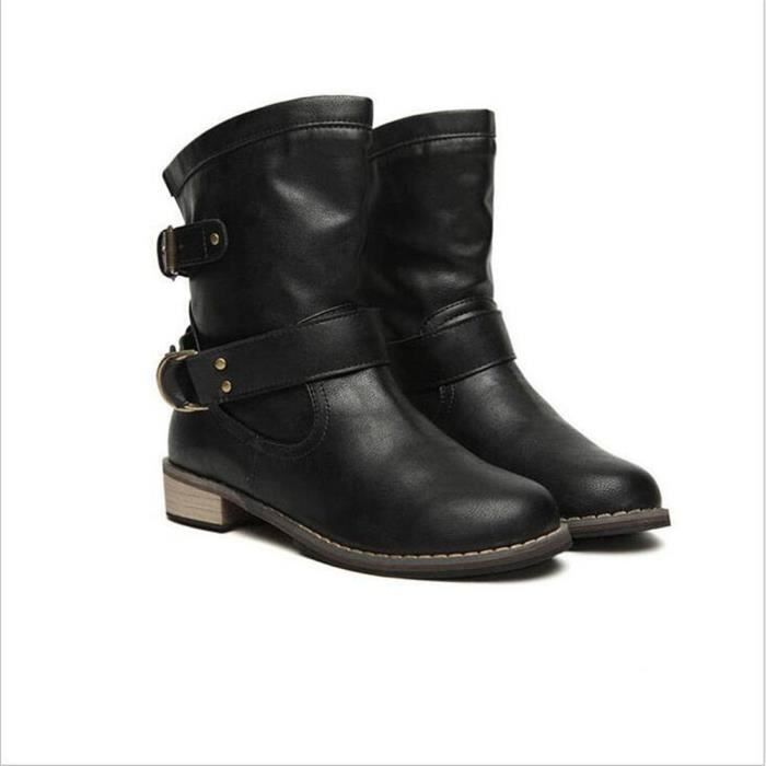 bottine femmes Femmes Cheville Martin Printemps bottines femme talon bottes Bottes d'hiver Bottes bottes Chaussure Chaussures kXNnPwZ80O