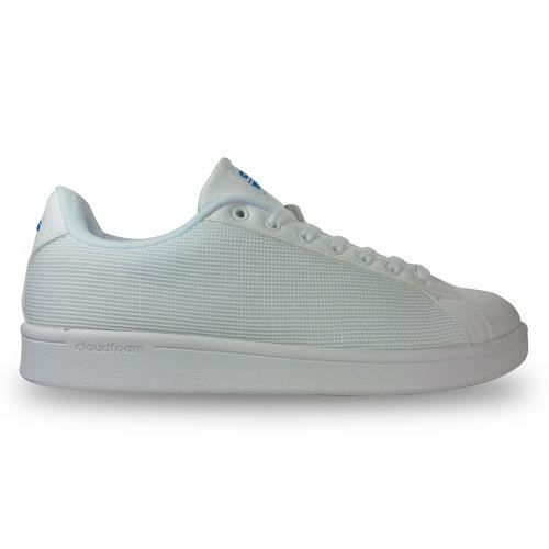 39 Chaussure blanc Clean Cloudfoam 1 Advantage Adidas wzXf4qX