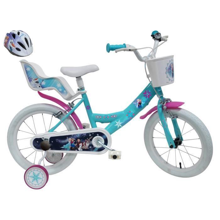 Panier vélo La reine des Neiges enfant fille