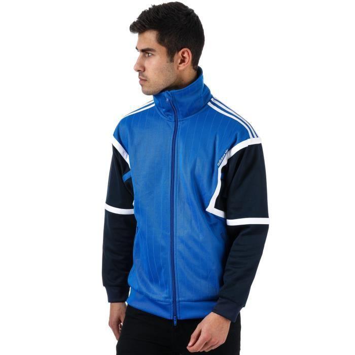pick up aliexpress promo codes Veste adidas Originals Training pour homme en bleu.