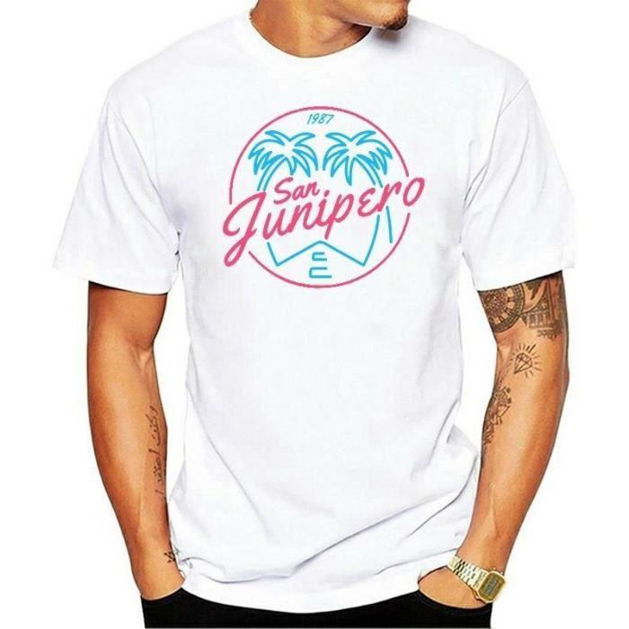 T-SHIRT T Shirts San Junipero Black Mirror Vintage Tees Ho