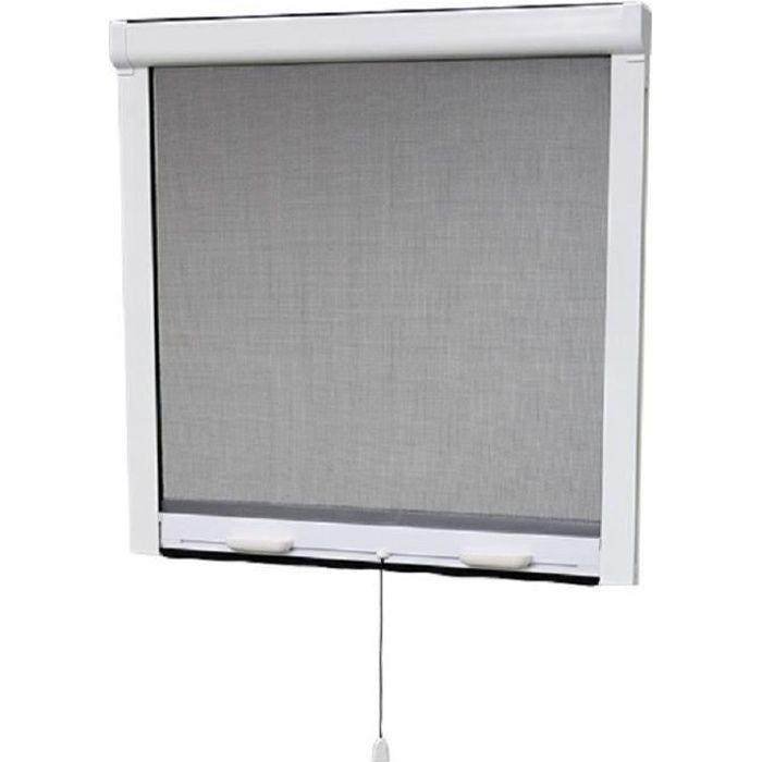 MOUSTIQUAIRE OUVERTURE Moustiquaire enroulable en PVC pour fenêtre - H145