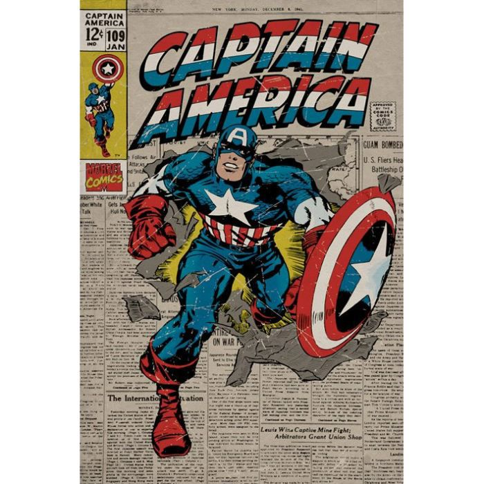 marvel posters achat vente marvel posters pas cher. Black Bedroom Furniture Sets. Home Design Ideas