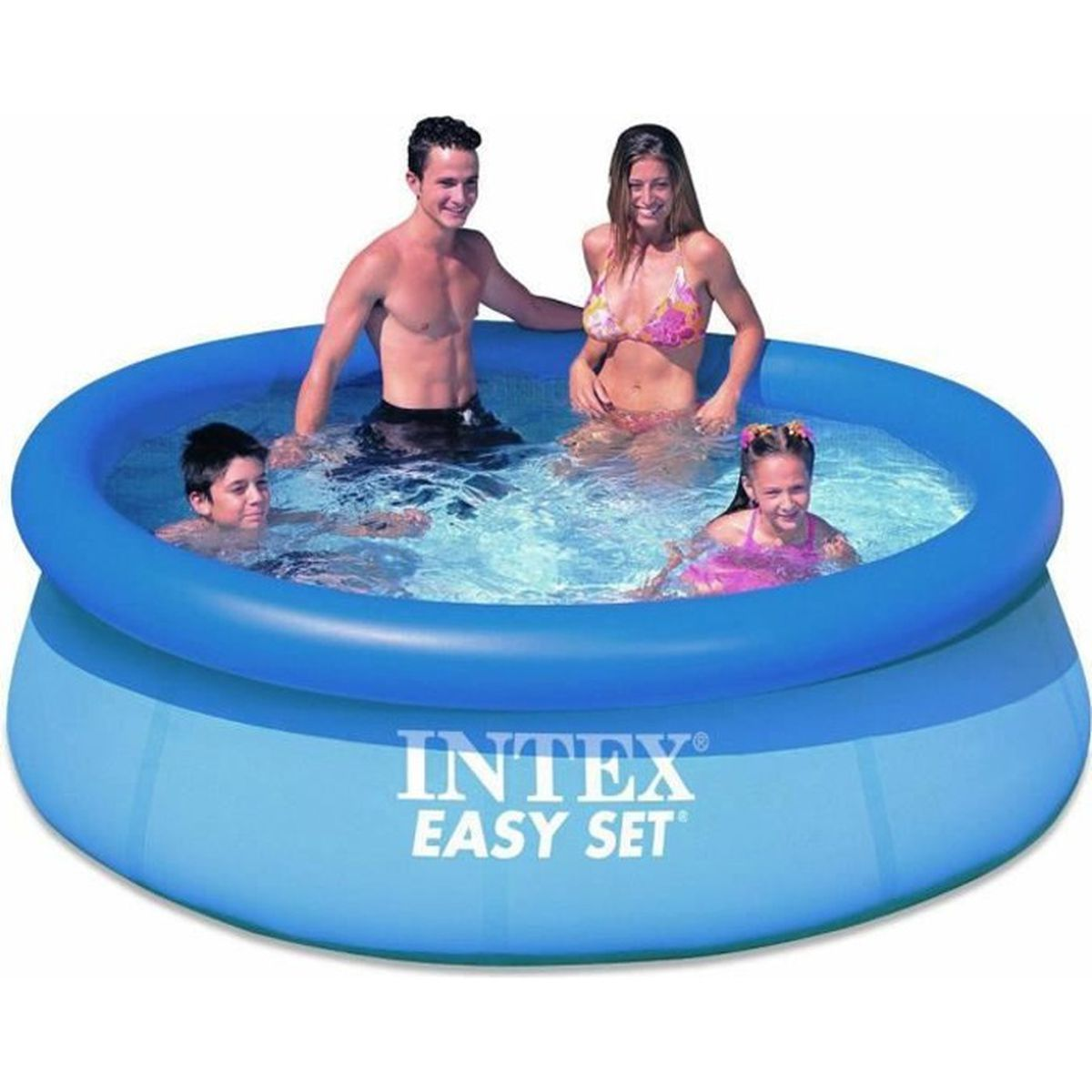 Piscine autoport e intex easy set 183 x 51 cm achat for Piscine autoportee intex leclerc
