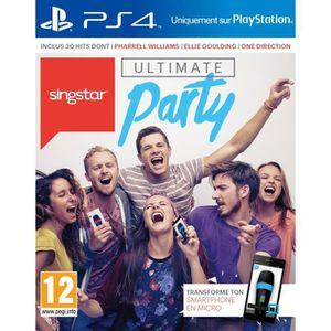 JEU PS4 SingStar : Ultimate Party Jeu PS4