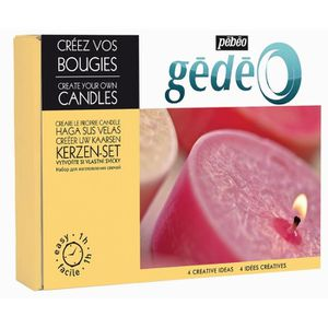 KIT MODELAGE PEBEO Kit Création Bougies GEDEO
