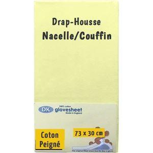 DRAP HOUSSE MATELAS Drap-Housse Nacelle Couffin pour Matelas 73 x 30 c
