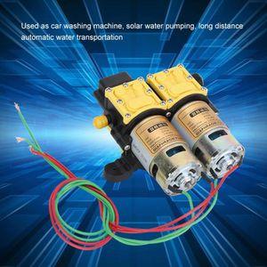 Qiter Pulv/érisateur /électrique agricole 12V Pompe /à Membrane Haute Pression Petite Pompe /à Eau Pompe /à Eau /électrique /à Double c/œur Pulv/érisateur /électrique