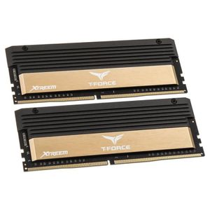 MÉMOIRE RAM Mémoire Team Group T-Force Xtreem gold, DDR4-3866,