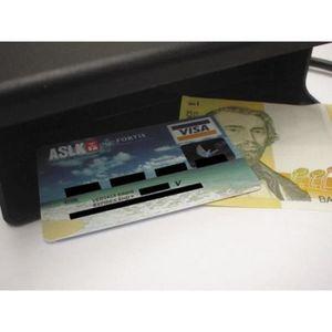 Monnaie banque Pound Note UV Checker//Testeur-Fraude Contrefaçon Faux//Vrais Scanner