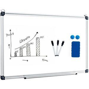 TABLEAU - PAPERBOARD Tableau Blanc Magnétique 60x40 cm Effaçable Surfac