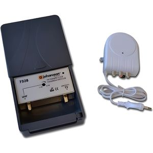 REPETEUR DE SIGNAL Kit pré amplificateur UHF 15 à 35 dB + alimentatio