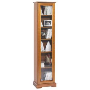 bibliotheque avec porte vitree achat vente bibliotheque avec porte vitree pas cher cdiscount. Black Bedroom Furniture Sets. Home Design Ideas