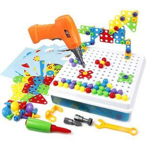 TAPIS DE JEU Mosaique Enfant Puzzle 3D, Construction Enfant Jeu