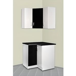 meuble d angle achat vente meuble d angle pas cher cdiscount. Black Bedroom Furniture Sets. Home Design Ideas