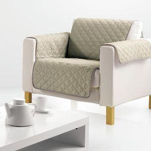 HOUSSE DE FAUTEUIL Protège fauteuil Argile