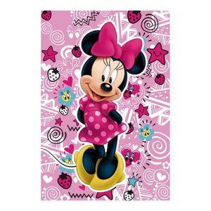 COUVERTURE - PLAID Plaid polaire Minnie Mouse couverture enfant frais