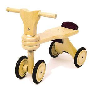 DRAISIENNE Draisienne Porteur en bois 4 roues Solide