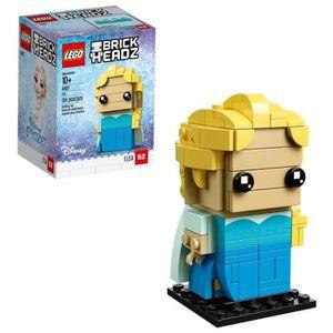 ASSEMBLAGE CONSTRUCTION Jeu D'Assemblage LEGO Brickheadz Elsa 41617 FIN10