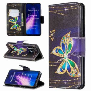 COQUE - BUMPER Coque XIAOMI Redmi Note 8,Papillon D'or Antichoc 1