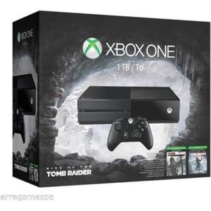 CONSOLE XBOX ONE Console Xbox One 1To + Rise of the Tomb Raider + T