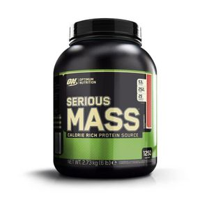 GAINER - PRISE DE MASSE OPTIMUM NUTRITION Pot Serious Mass Fraise - 2,72 k