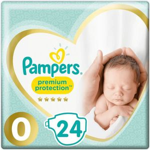 COUCHE PAMPERS Premium Protection New Baby Taille Micro -