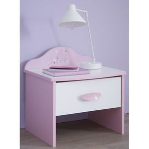 table de nuit enfant achat vente table de nuit enfant pas cher cdiscount. Black Bedroom Furniture Sets. Home Design Ideas