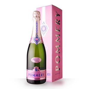 CHAMPAGNE Pommery Brut Rosé 75cl - Etui - Champagne