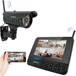 CAMÉRA DE SURVEILLANCE SEDEA Kit de surveillance sans fil écran + enregis