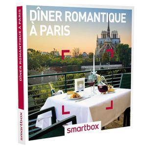 COFFRET SÉJOUR Coffret cadeau - Dîner romantique à Paris - Smartb