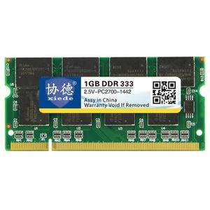 MÉMOIRE RAM Mémoire vive RAM DDR 333 MHz 1 Go Module de à comp