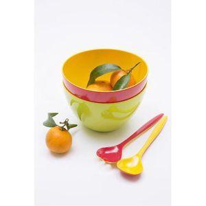 ZAK duo Saladier 18 cm Orange