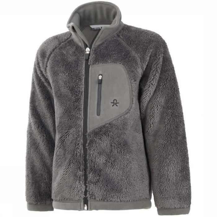 COLOR KIDS BURMA Veste polaire enfant - Gris