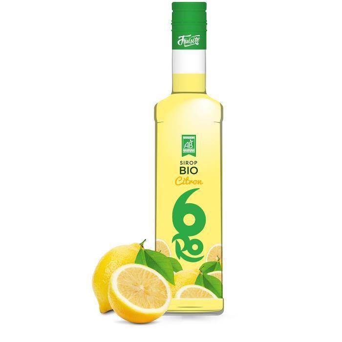 Sirop de citron FRUISITE BIO 50 cl