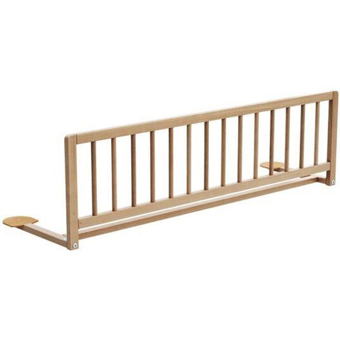 AT4 - Barrière de lit ESSENTIEL - Hêtre verni