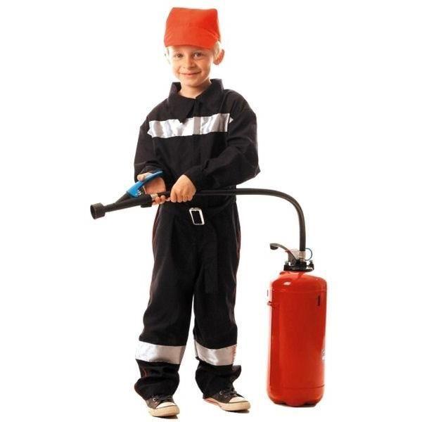 Déguisement pompier enfant 4-6 ans
