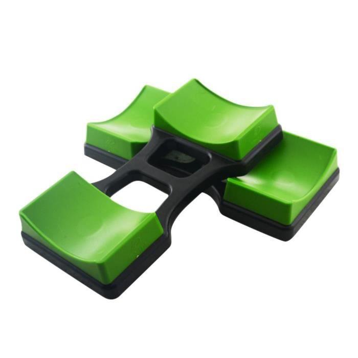 Tapis de support d'haltère, 1 paire, support d'haltère, support de Protection sur le sol, dispositif d JS940