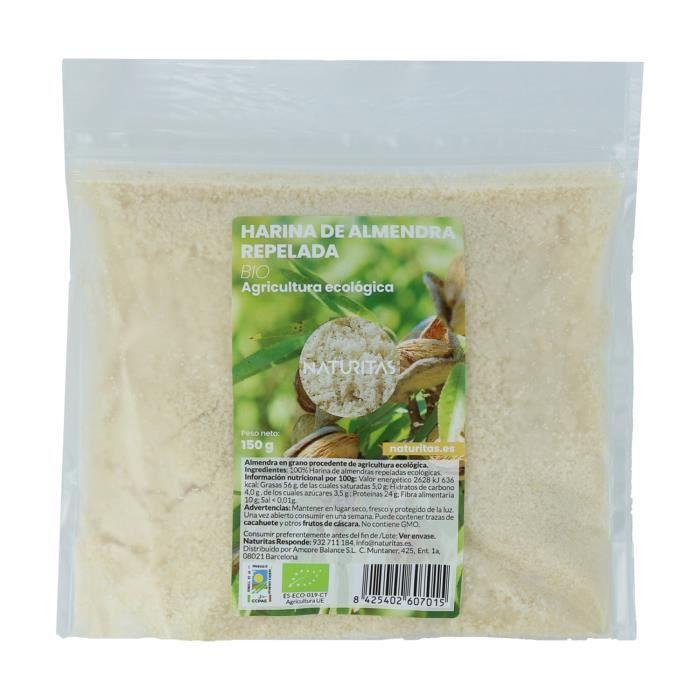 Farine d'amande 150 g Bio Naturitas - Idéal pour les desserts