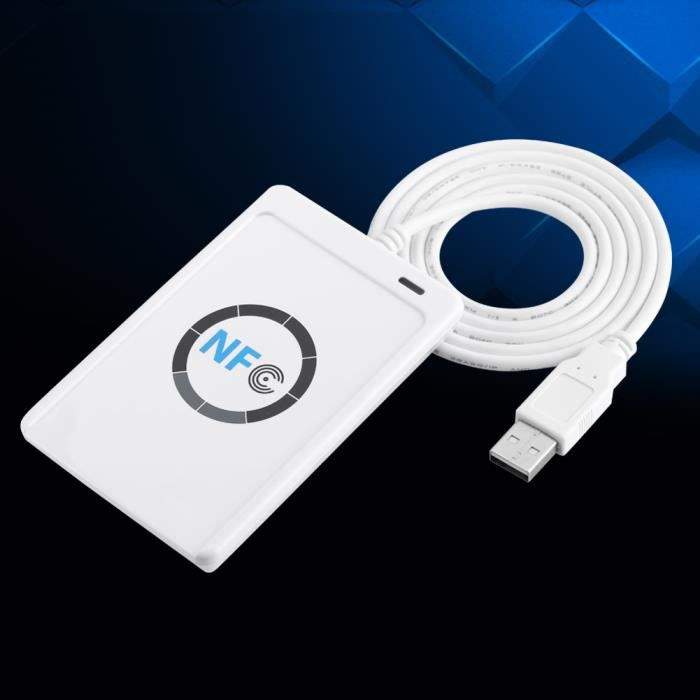 Lecteur - graveur NFC RFID ACR122U Logiciel