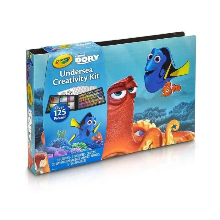 DORY Crayola - Grand Kit de Loisirs Créatifs