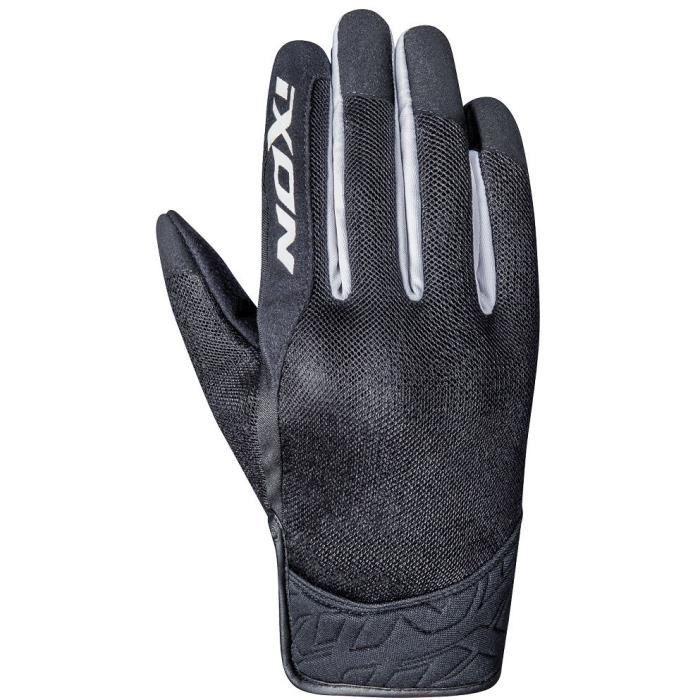 IXON Gants moto RS Slicker - Homme - Noir et blanc
