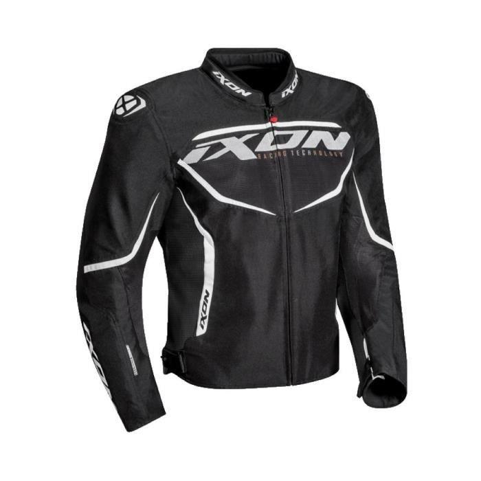 IXON Blouson moto Sprinter Air - Noir et blanc