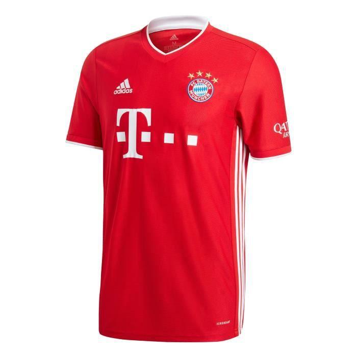 Maillot Bayern Munich - 2020-2021 Maillot de Football Home Jersey - Rouge
