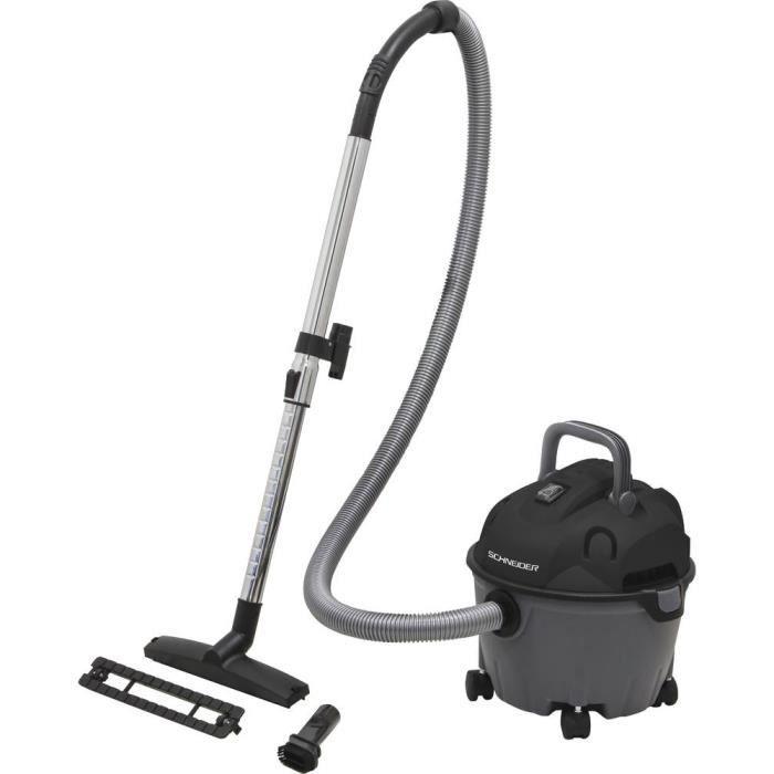 Aspirateur eau et poussière 10L Schneider 50001
