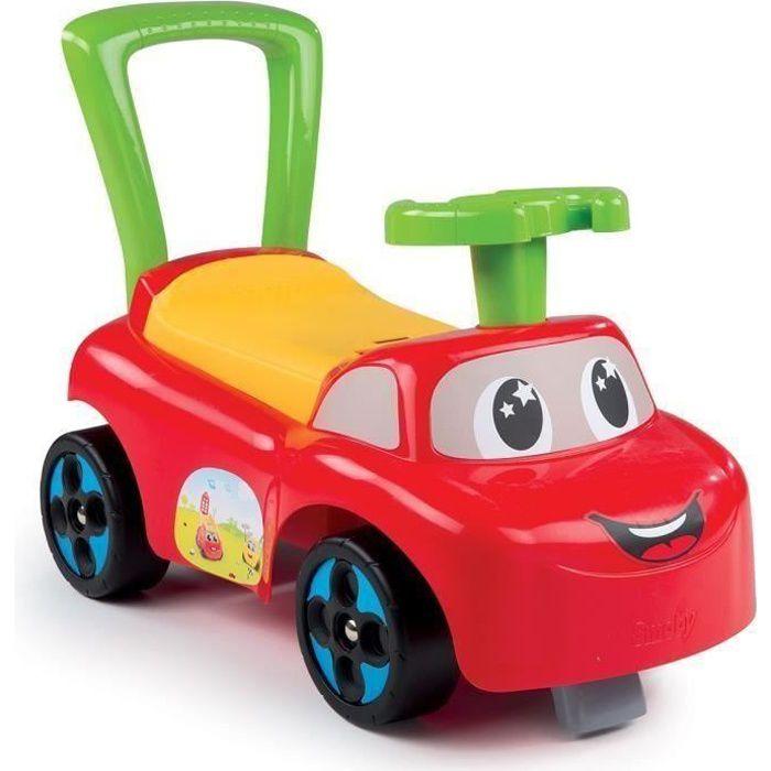SMOBY Porteur Enfant Auto Rouge Premier Age