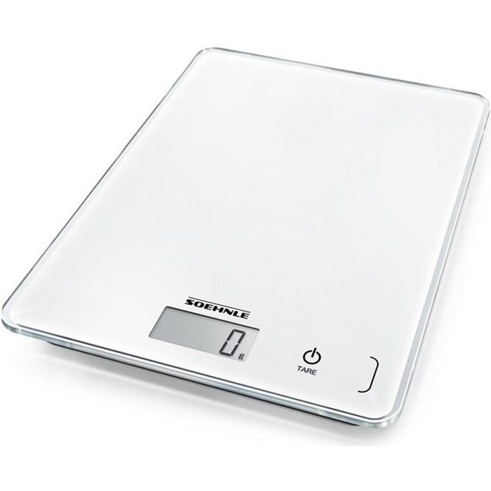 SOEHNLE Balance Page Compact 300 5kg / 1g - Blanc