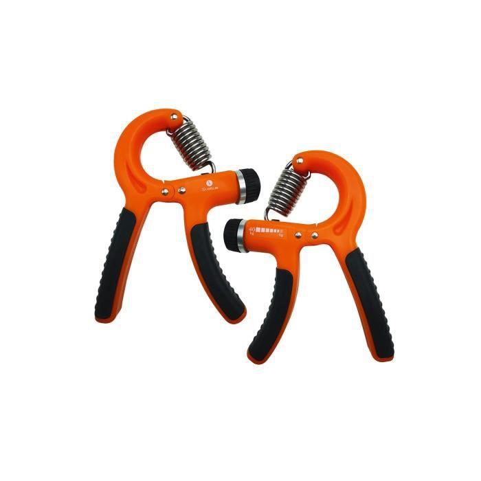 Pince de musculation ajustable Sveltus - orange - TU